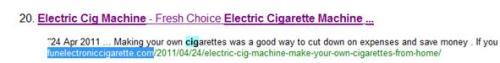 Electric Cig Machine Ranking on 1/5